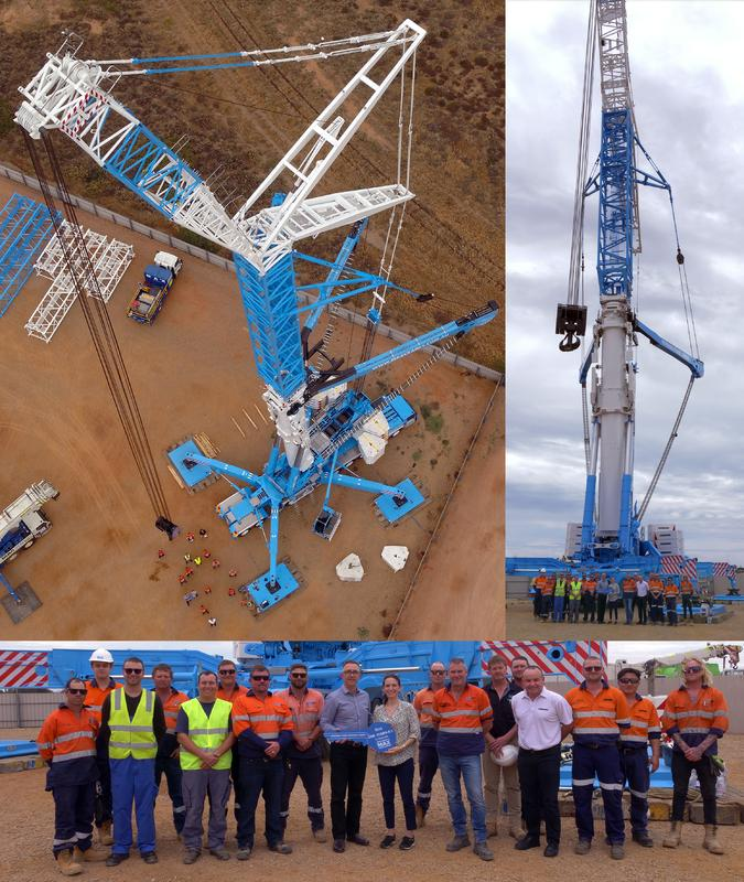 1200 tonner turns Max Cranes from David to Goliath - largest