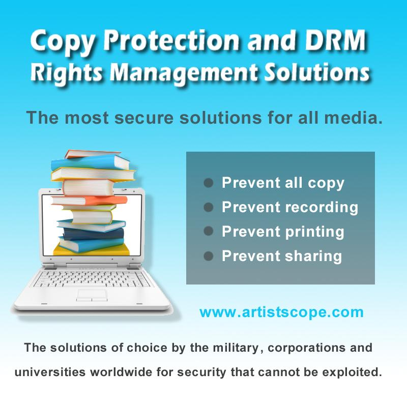 Copy Protect PDF and Video with DRM