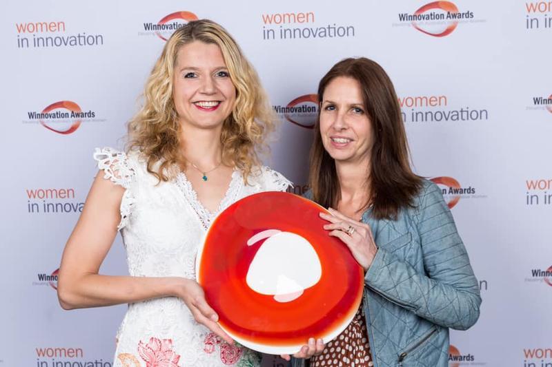 Winnovation Award winner Dr Katharina Richter